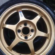 SSR TYPE C 15inc SportRim with Tyres