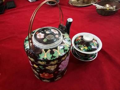 Set Teko Tembikar Lama