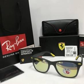 Original RayBan Ferrari yellow lens RB4195 rare