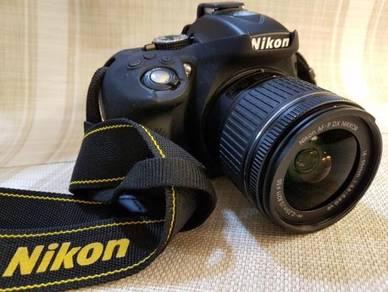 Nikon D5300 AF-P DX 18-55mm (Nikon Msia Warranty)