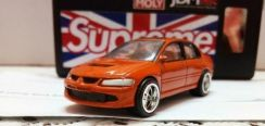 1/64 Custom not Hotwheels Mitsubishi Evo 8