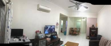 (Fully Renovated) Anggerik Villa Apartment 3r2b Kajang 1063sf Semenyih