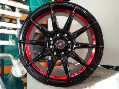 New 15 TCK FORGED Rim Myvi Jazz City vios iriz