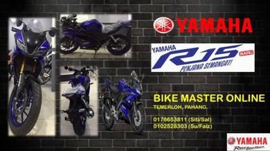 Yamaha r-15 best dep & ready stock