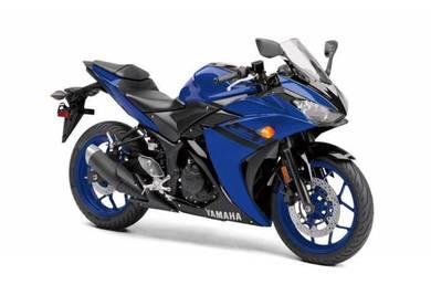 Yamaha r25 dep2450 free exhaust 15gift