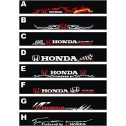 Honda winsdcreen windshields sticker