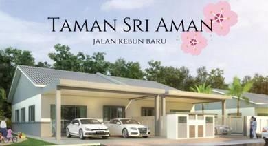 New setingkat semi-d malay reserved at taman sri aman jalan kebun baru