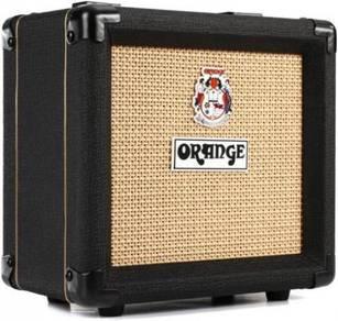 Orange PPC108 20-watt 1x8 Speaker Cabinet-BK