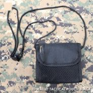 Military Tactical Cordura ID Wallet Pouch Black