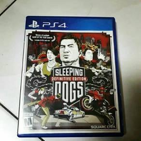 Ps4 -sleeping dogs