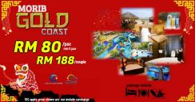 Promosi CNY ke (Morib Gold Coast 2019)