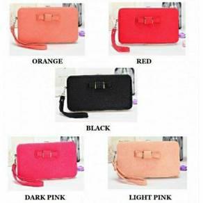 Phone holder long purse