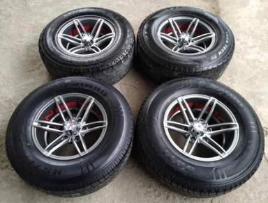 16 inch Vossen 4X4 New Sport Rim (8.5JJ) and Tyres