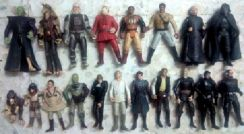 Lot L10A. Loose 3.75 inch Star Wars Figures
