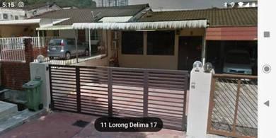 SUPER BEST BUY! Single Storey Terrace Extended Lorong Delima Greenlane