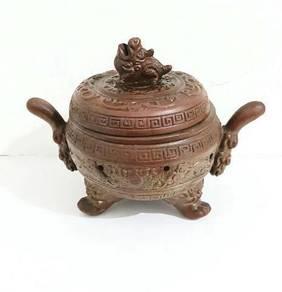 Antiques Chinese Ceramic incense burner