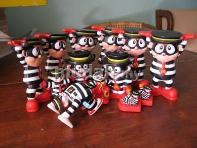 Original McDonalds Hamburglar Toys