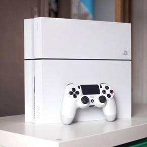 Ps4 fat white colour 500gb