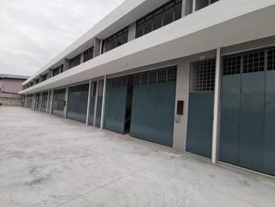 Limited Unit Brand New 2sty Factory Kapar Klang Behind Hai O with CF