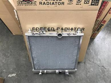 Blox aluminium radiator for proton wira 1.5 manual