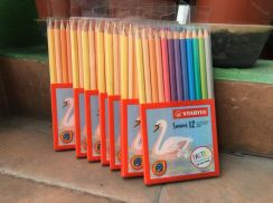 Stabilo Swan PASTEL Colored Pencils (1877L)