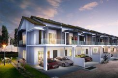 Luxury Design Double Sty Superlink House 24x81 ( Non Bumi Lot )