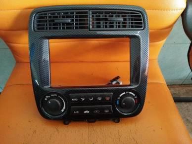 Honda stream rn1 rn3 air cond panel carbon