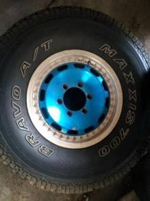 4x4 rim n tyre