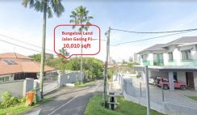 [Bungalow Land Jalan Gasing Petaling Jaya] (10,010 sqft)