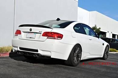 BMW E92 E93 M Performance Carbon Boot Spoiler