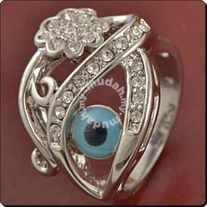 ABRWG-E001 Mens Evil-Eye Turkey Fashion 9K Ring