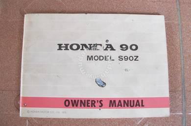 HONDA S90Z Owner Manual RARE