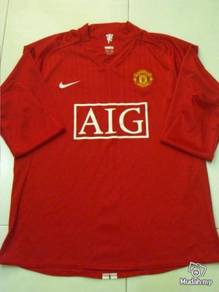 Manchester United Home 07-09 Player Issue BPL M