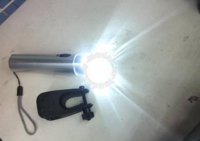 Led torch light bike bicycle Lampu Suluh
