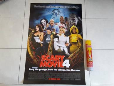 Poster Original SCARY MOVIE 4 Limited Edition 2006
