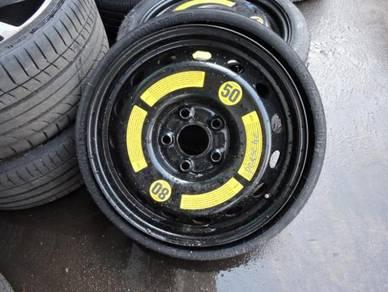 Porsche Cayenne Q7 Ori 6.5Jx18 Spare Tyre + Rims