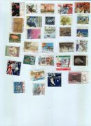 Use-d Stamp 30 pieces different Australia