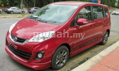 Perodua New Alza SE Bodykit PU