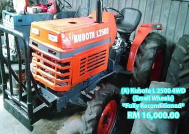 Kubota Tractors (2 Models)