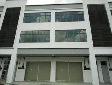 Taman mengkibol kluang triple storey shop lot