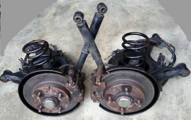 Disc brake belakang l5 complet for kancil
