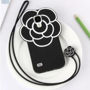 Samsung S4 Camellia Casing with lanyard