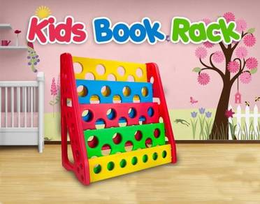 Kids book rack