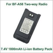 BAOFENG A58 7.4V 1800mAh Li-ion Battery