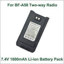 BAOFENG A58 7.4V 1800mAh Li-ion Battery