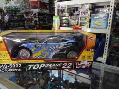 Top grade turbo rc car blue