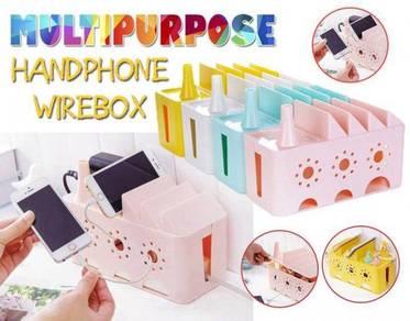 Multipurpose handphone wirebox