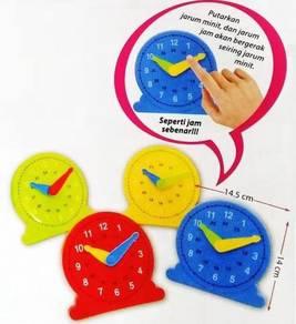 Colour Clock (S) - International Timezone