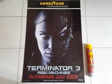 Poster Original TERMINATOR 3 Limited Edition 2003