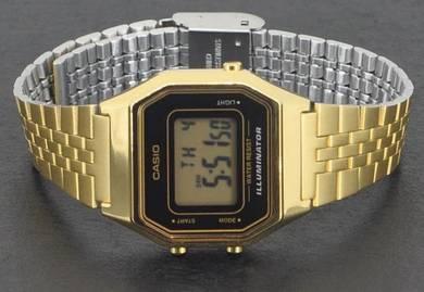 Casio Lady Digital Vintage Retro Watch LA680WGA-1D